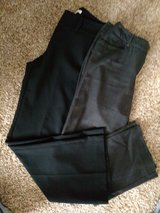 Women's black slacks size 6 in Naperville, Illinois