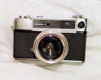 Antique Yashica Minister D 35 mm Film Camera 2.8 45 mm Lens 1963 Black Case in Kingwood, Texas