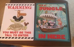 Disney Signs in Chicago, Illinois