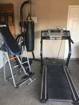 Exercise equipment in Fort Riley, Kansas