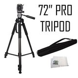 Professional 72-inch Tripod 3-way Panhead Tilt Motion with Built In Bubble Level in Hopkinsville, Kentucky