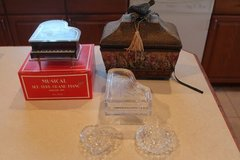 Jewelry Boxes and Glass ring holders in Alamogordo, New Mexico