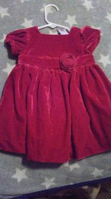 red velvet dress 3 to 6 months in Fort Campbell, Kentucky
