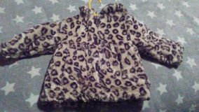 leopard print fur jacket 18 months in Fort Campbell, Kentucky