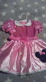 Disney pink dress 6to 9 months in Fort Campbell, Kentucky