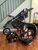 The Graco SnugRide Click Connect 35 Car Seat and The Graco FastAction Fold Jogger in Naperville, Illinois
