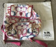 Coach authentic back pack with tag &storage bag in Kingwood, Texas