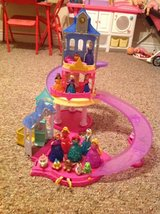 Authentic Disney Magiclip slide and glide castle with Princesses in Fort Polk, Louisiana