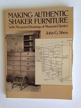 Making Authentic Shaker Furniture Book in Naperville, Illinois