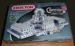 Erector Set - Capitol Building - Price Drop in Naperville, Illinois