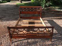 Antique double bed frame in Alamogordo, New Mexico