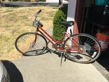 1970s Schwinn bicycle in Fairfield, California