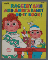 Vintage 1978 Raggedy Ann & Andy's Dandy Do-It-Book in Morris, Illinois