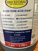 Concrete Stain in Spring, Texas