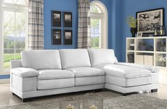 SALE! BRAND NEW! CONTEMPORARY UPSCALE LARGE SOFA CHAISE LEATEHR SECTIONAL! in Camp Pendleton, California