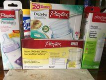 Playtex Nurser Drop-Ins Liners Bottles 8-10 oz And Liners. in Lockport, Illinois