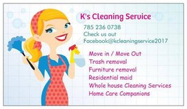 k's cleaning   we are here for you! in Fort Riley, Kansas