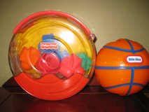 Fisher Price Shapes & Little Tikes Nesting Balls in Lockport, Illinois