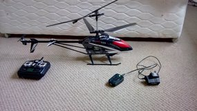 RC helicopter in Lakenheath, UK
