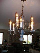 Country ceiling Chandelier Light Fixture in Naperville, Illinois