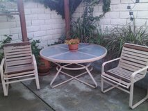 vintage patio set (6 chairs and table) - in oceanside in Camp Pendleton, California