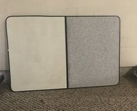 Dry Erase board with gray corks board in Kingwood, Texas