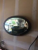Antique oval mirror in Camp Pendleton, California