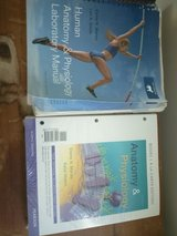Anatomy and physicologylab book in Beaufort, South Carolina