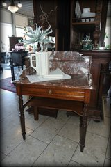 elegant vanity desk with marble top in Ramstein, Germany