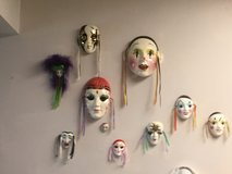 Ceramic Mask Collection in Beaufort, South Carolina