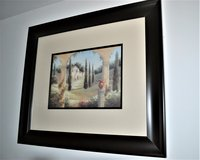 Framed Print Italian Country Scene in Ramstein, Germany