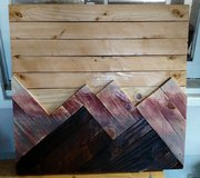 Handmade wooden wall hanging in Alamogordo, New Mexico