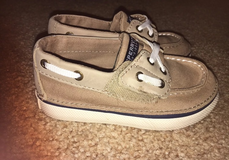 NWOT Toddler Sperry Boat Shoes size 8c in Fort Riley, Kansas