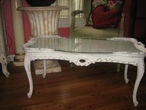 french vintage shabby chic coffee table in Naperville, Illinois