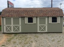 12x24 Cook Lofted Shed/ Workshop - LIFETIME WARRANTY & FREE DELIVERY! in Fort Benning, Georgia