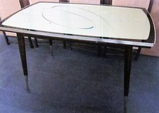 Mid Century Designer Dining Table from Menzel in Ramstein, Germany