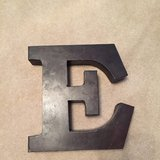 """E"" for wall or table in Kingwood, Texas"