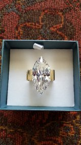 """Brilliant Marquise-Cut Crystal Ring"" in Oswego, Illinois"