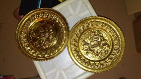Vintage Copper Embossed Wall Plates in Fort Campbell, Kentucky