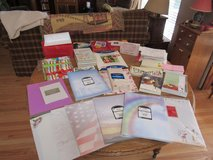 Assortment of Stationary, Photo Paper, Card Envelopes, etc in Aurora, Illinois