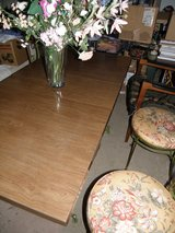 """Dining Room Table 30"""" x 60"""" (with Leaf) Wrought Iron in Wilmington, North Carolina"""