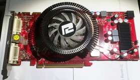 GRAPHICS VIDEO CARD POWERCOLOR RADEON in Lakenheath, UK