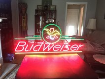 4' Wide Eagle AB Budweiser Neon in Cherry Point, North Carolina