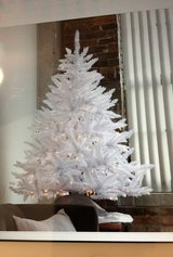 White 4.5 ft Christmas tree in Beaufort, South Carolina