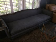 Couch - Wool Grey Pinstripes in Naperville, Illinois