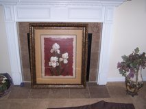 floral painting in Fort Campbell, Kentucky