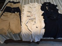 Kids uniform shirts and shorts like new in Naperville, Illinois
