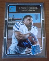 Dalllas Cowboys Rookie Cards Prescott/Elliott in Fort Bliss, Texas
