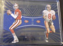 Joe Montana/S Young Rivals 92/99 in Fort Bliss, Texas