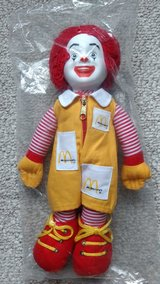 Ronald McDonald doll-1984 in Orland Park, Illinois
